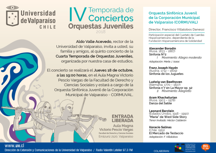 Orquesta CORMUVAL TEMPORADA IV UV